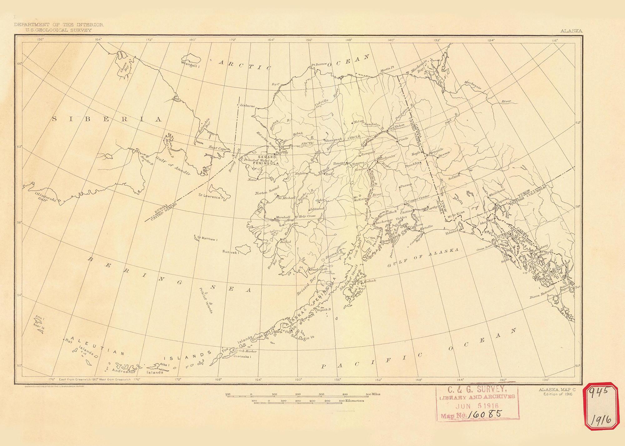 Historical Nautical Chart - 16085-00-1916 Alaska Map C on map of eklutna alaska, map of copper center alaska, map of yentna river alaska, map of port lions alaska, map of prospect creek alaska, map of gambell alaska, map of anvik alaska, map of tazlina alaska, full map of alaska, map of iliamna alaska, map of caswell alaska, map of new stuyahok alaska, map of arctic village alaska, map of the state of alaska, map of savoonga alaska, map of campbell creek alaska, map of hooper bay alaska, map of russian river alaska, map of chignik alaska, map of noorvik alaska,